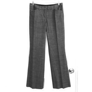 Express Editor Gray Pinstripe Pants